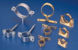Pipe Clamps Brass Steel Pipe Hanger Clamps